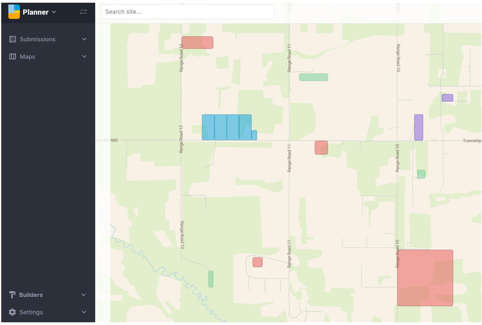 MuniSight Planner Map
